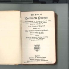 Libros antiguos: THE BOOK OF COMMON PRAYER ( LIBRO DE ORACION COMUN AÑOS 20. Lote 46521139