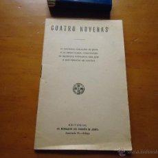 Libros antiguos: ANTIGUO LIBRITO NOVENA 4 NOVENAS SAGRADO CORAZON D JESUS VIRGEN INMACULADA , SAN JOSE SAN IGNACIO L. Lote 210252295