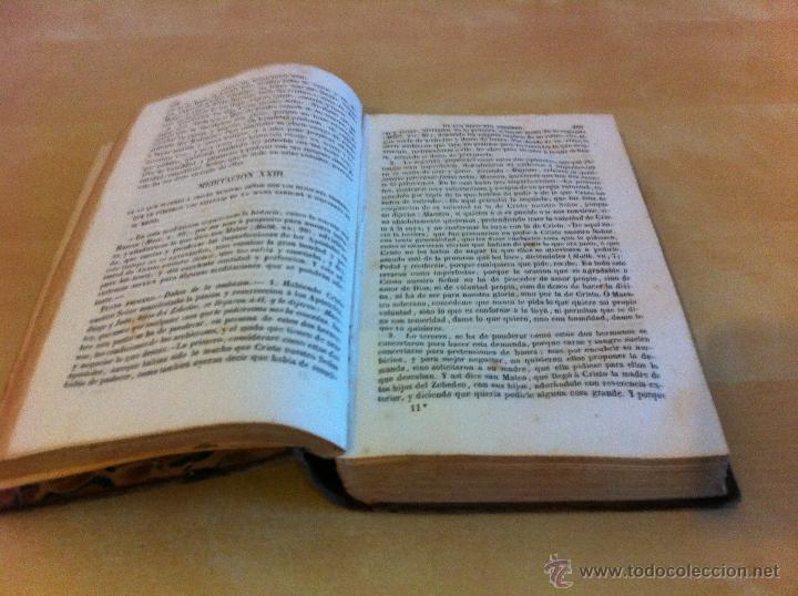 Libros antiguos: MEDITACIONES ESPIRITUALES. V.P. LUIS DE LA PUENTE. COMPAÑIA DE JESÚS.TOMO II.LIBRERÍA RELIGIOSA.1856 - Foto 11 - 46886948