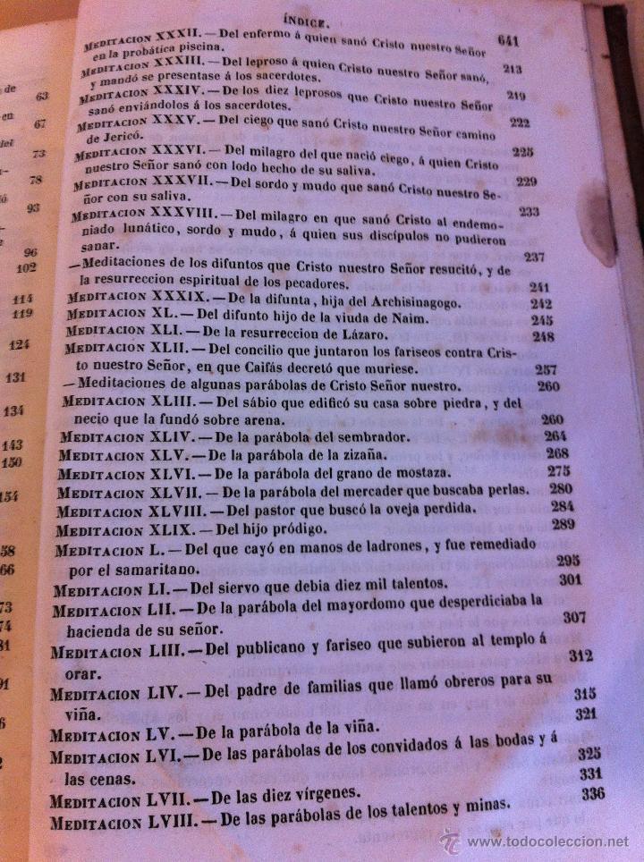 Libros antiguos: MEDITACIONES ESPIRITUALES. V.P. LUIS DE LA PUENTE. COMPAÑIA DE JESÚS.TOMO II.LIBRERÍA RELIGIOSA.1856 - Foto 14 - 46886948