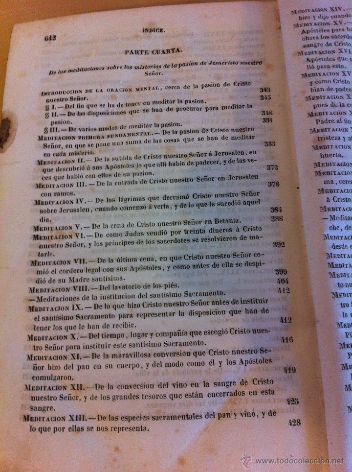Libros antiguos: MEDITACIONES ESPIRITUALES. V.P. LUIS DE LA PUENTE. COMPAÑIA DE JESÚS.TOMO II.LIBRERÍA RELIGIOSA.1856 - Foto 15 - 46886948