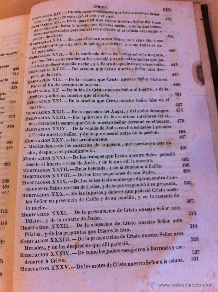 Libros antiguos: MEDITACIONES ESPIRITUALES. V.P. LUIS DE LA PUENTE. COMPAÑIA DE JESÚS.TOMO II.LIBRERÍA RELIGIOSA.1856 - Foto 16 - 46886948