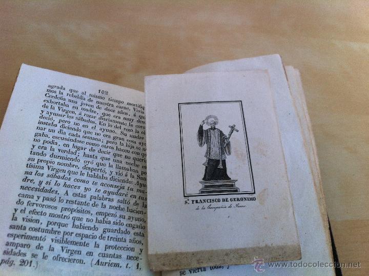 Libros antiguos: EL MES DE MARÍA Ó EL MES DE MAYO. CONSAGRADO Á MARÍA SANTÍSIMA. IMPRENTA D. EUSEBIO AGUADO. AÑO 1847 - Foto 15 - 46906021