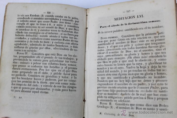 Libros antiguos: L-5916. MEDITACIONES DIARIAS DE LOS MISTERIOS DE NUESTRA SANTA FE. P. ALONSO DE ANDRADE. 1857 - Foto 7 - 46988824