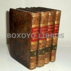 Libros antiguos: RODRIGUEZ, ALONSO. EJERCICIO DE PERFECCIÓN Y VIRTUDES CRISTIANAS. PARTES PRIMERA Y TERCERA. Lote 269041533