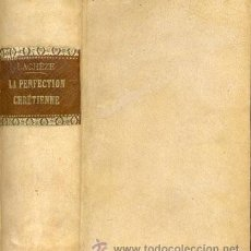 Alte Bücher - PERFECTION CHRÉTIENNE – Año 1859 - 47245429