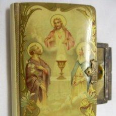 Libros antiguos: LIBRO DEVOCIONARIO DE 1ª COMUNIÓN.1906.. Lote 47298085