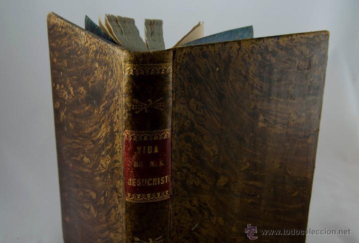 Libros antiguos: Vida de Nuestro Señor Jesucristo. Luis Veuillot - Foto 2 - 47410722