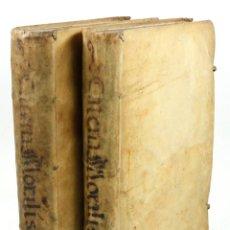 Libros antiguos: MORALIS DOCTRINAE, PEDRO DE TAPIA, TOMO II Y II. SEVILLA, AÑO 1654 Y 1657. EN BUEN ESTADO, VER FOTOS. Lote 47532749