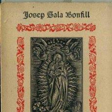 Libros antiguos: J. SALA BONFILL : HIMNARI LITÚRGIC (SUBIRANA, 1915) HIMNOS LITÚRGICOS EN CATALÁN Y LATÍN. Lote 47609364