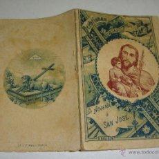 Libros antiguos: NOVENA A SAN JOSÉ. S. CALLEJA. MADRID - 1898. Lote 47822843