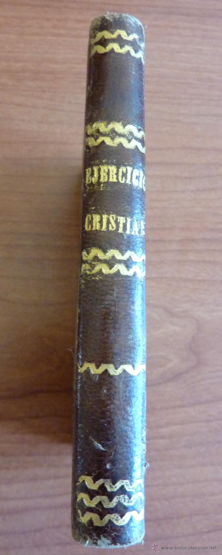 EJERCICIO CRISTIANO O METODO MUY PROVECHOSO PARA....... MAYO 1849 (Libros Antiguos, Raros y Curiosos - Religión)