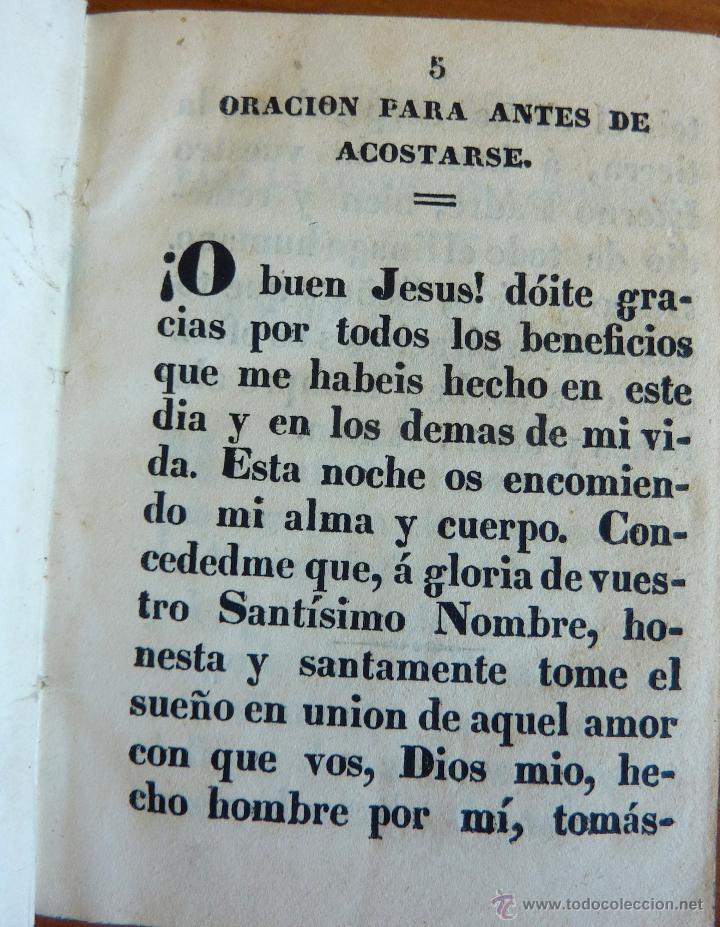 Libros antiguos: Ejercicio Cristiano o metodo muy provechoso para....... Mayo 1849 - Foto 5 - 47969815