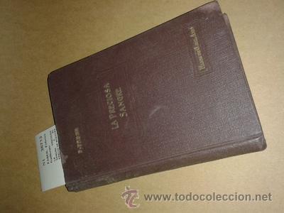LA PRECIOSA SANGRE O EL PRECIO DE NUESTRA SALVACION POR EL R.P. ---. - FABER, FEDERICO GUILLERMO (Libros Antiguos, Raros y Curiosos - Religión)