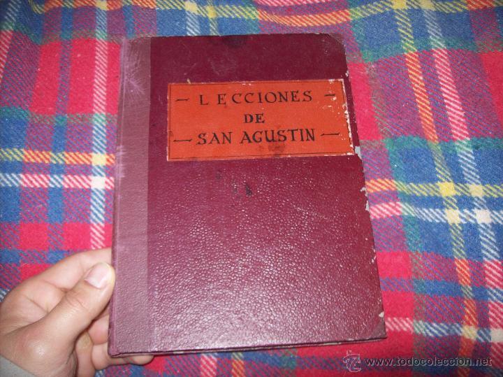 Libros antiguos: LECCIONES DE SAN AGUSTÍN + NOCIONES FUNDAMENTALES DE MÍSTICA. 1931 Y 1941. TODO UNA JOYITA.VER FOTOS - Foto 2 - 48425201