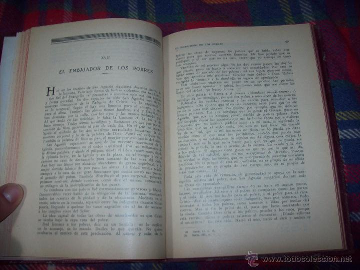 Libros antiguos: LECCIONES DE SAN AGUSTÍN + NOCIONES FUNDAMENTALES DE MÍSTICA. 1931 Y 1941. TODO UNA JOYITA.VER FOTOS - Foto 7 - 48425201