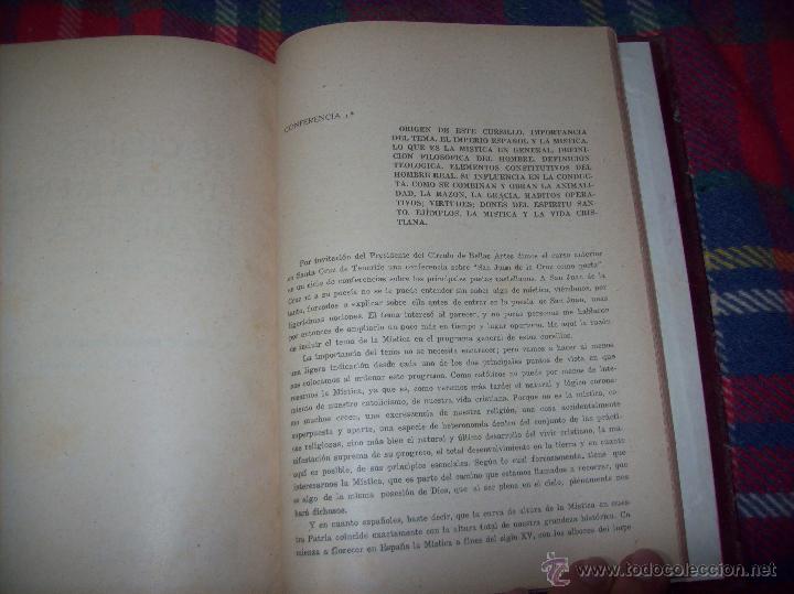 Libros antiguos: LECCIONES DE SAN AGUSTÍN + NOCIONES FUNDAMENTALES DE MÍSTICA. 1931 Y 1941. TODO UNA JOYITA.VER FOTOS - Foto 15 - 48425201