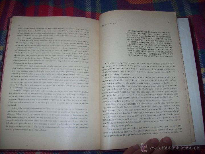 Libros antiguos: LECCIONES DE SAN AGUSTÍN + NOCIONES FUNDAMENTALES DE MÍSTICA. 1931 Y 1941. TODO UNA JOYITA.VER FOTOS - Foto 18 - 48425201