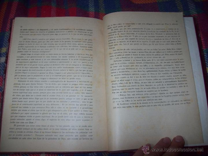 Libros antiguos: LECCIONES DE SAN AGUSTÍN + NOCIONES FUNDAMENTALES DE MÍSTICA. 1931 Y 1941. TODO UNA JOYITA.VER FOTOS - Foto 19 - 48425201