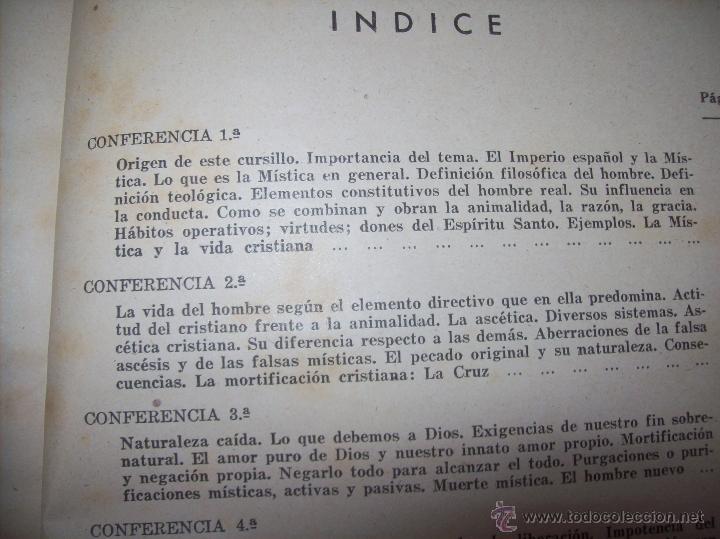 Libros antiguos: LECCIONES DE SAN AGUSTÍN + NOCIONES FUNDAMENTALES DE MÍSTICA. 1931 Y 1941. TODO UNA JOYITA.VER FOTOS - Foto 21 - 48425201