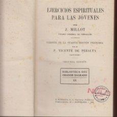 Libros antiguos: TOMO 2º- BIBLIOTECA DEL ORADOR SAGRADO-INSTRUCCIONES DE UN CUARTO DE HORA AÑO 1927 LR688. Lote 48623270