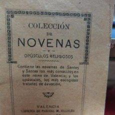 Libros antiguos: COLECCION DE NOVENAS 1917. Lote 48643990