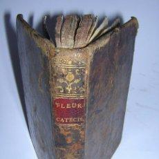 Libros antiguos: 1773 - CLAUDIO FLEURY - CATECISMO HISTÓRICO, COMPENDIO DE HISTORIA SAGRADA TOMO I - 14 LÁMINAS . Lote 48730642