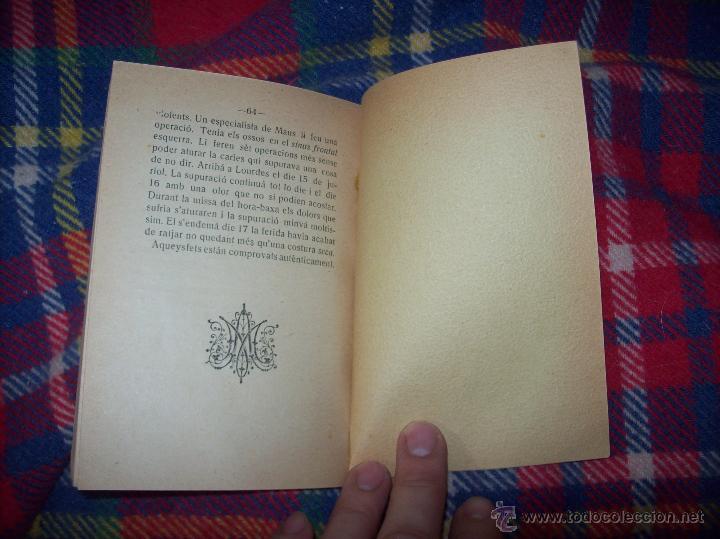 Libros antiguos: RECORDATORI PELEGRINACIÓ MALLORQUINA A LOURDES. S.G.í S. 1908.EXTRAORDINARI EXEMPLAR.UNA JOIA.FOTOS - Foto 9 - 49263559