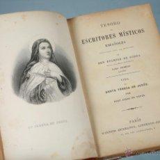 Libros antiguos: VIDA DE SANTA TERESA DE JESÚS, POR FRAY DIEGO DE YEPES 1923. Lote 49325146