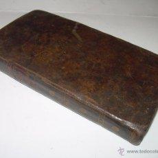 Libros antiguos: LIBRO TAPAS DE PIEL....EJERCICIO SANTO Y QUOTIDIANO...(CON GRABADOS)....AÑO 1.821.. Lote 49565235
