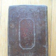 Libros antiguos: ANCORA DE SALVACION O DEVOCIONARIO 1860. Lote 49710078