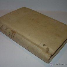 Libros antiguos: LIBRO TAPAS DE PERGAMINO....SERMONES VARIOS DE MISTERIOS.......AÑO..1.807. Lote 49848784