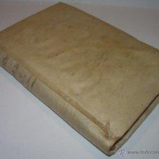 Libros antiguos: LIBRO TAPAS DE PERGAMINO....SERMONES VARIOS PANEGIRICOS Y MORALES......AÑO...1.818.. Lote 49848835