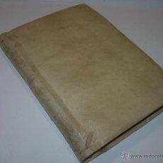 Libros antiguos: LIBRO TAPAS DE PERGAMINO....SERMONES VARIOS PANEGIRICOS Y MORALES......AÑO...1.800.. Lote 49848875