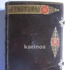 Libros antiguos: EUCOLOGIO ROMANO . EL EJERCICIO COTIDIANO, SANTA MISA, LAS VISPERAS DEL DOMINGO, ETC. +-1890 B6. Lote 50001910