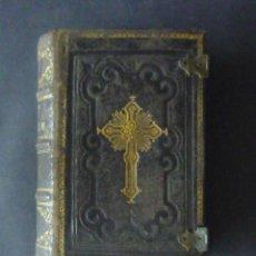Libri antichi: BREVIARIUM ROMANUM-S. PII V. PONTIFICIS MAXIMI-TYPIS TYPOGRAPH-AÑO 1877 2 TOMOS:LR1131. Lote 50015800