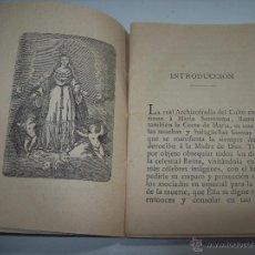Libros antiguos: MODO DE HACER LA VISITA MENSUAL A LA MADRE DEL AMOR HERMOSO.TIPOGRAFÍA DE FELIPE GUASP.1899.UNA JOYA. Lote 50056540