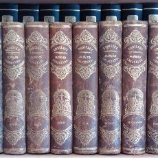 Alte Bücher - AÑO CRISTIANO O EJERCICIOS DEVOTOS PARA TODOS LOS DIAS DEL AÑO / P. JUAN CROISSET / 12 Tomos / 1853 - 64156043