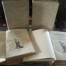 Libros antiguos: RELIGION AÑOS 1852 1853 1854 ,,AÑO CRISTIANO, TOMOS 1 , 2 , 3 Y 5 , BIBLIOTECA DE GASPAR ROIG MADRID. Lote 50389478