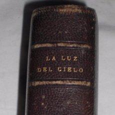 Libros antiguos: LA LUZ DEL CIELO ,SOBRE 1860, PRECIOSOS GRABADOS. Lote 50412394