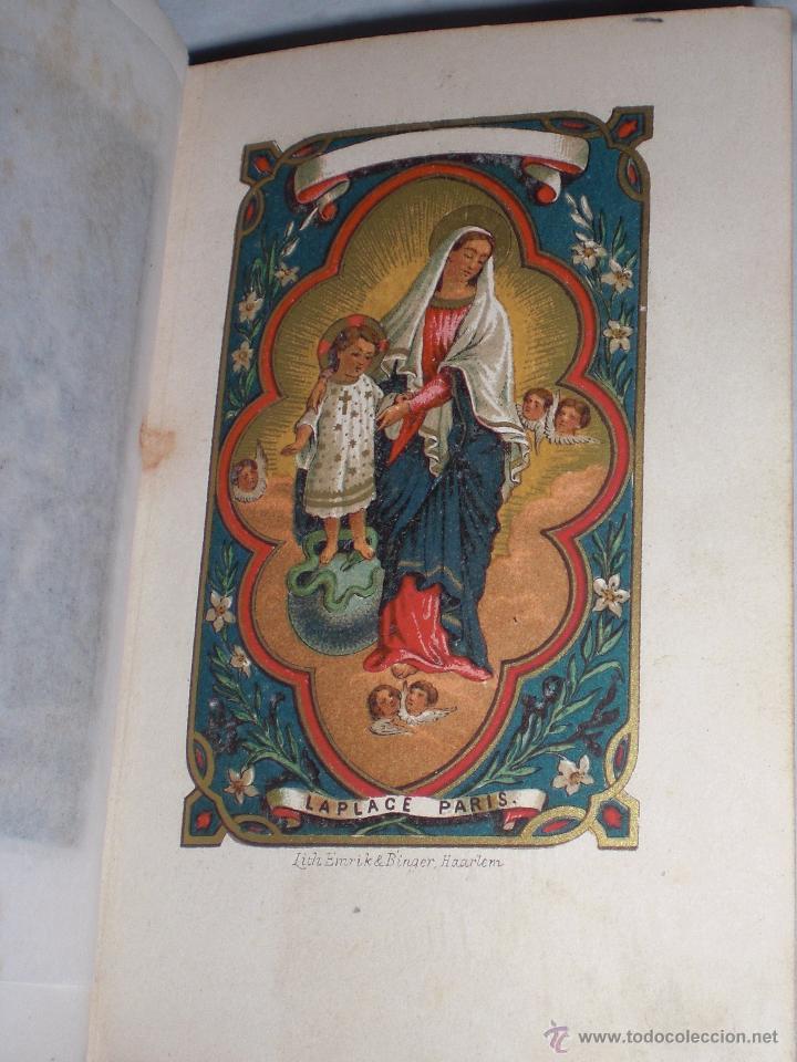 Libros antiguos: La luz del cielo ,sobre 1860, preciosos grabados - Foto 2 - 50412394