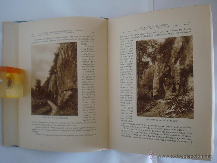 Libros antiguos: BAUSSAN. LOURDES Y LAS PEREGRINACIONES DE LA VIRGEN. 1927. OBRA MUY ILUSTRADA - Foto 3 - 50482173
