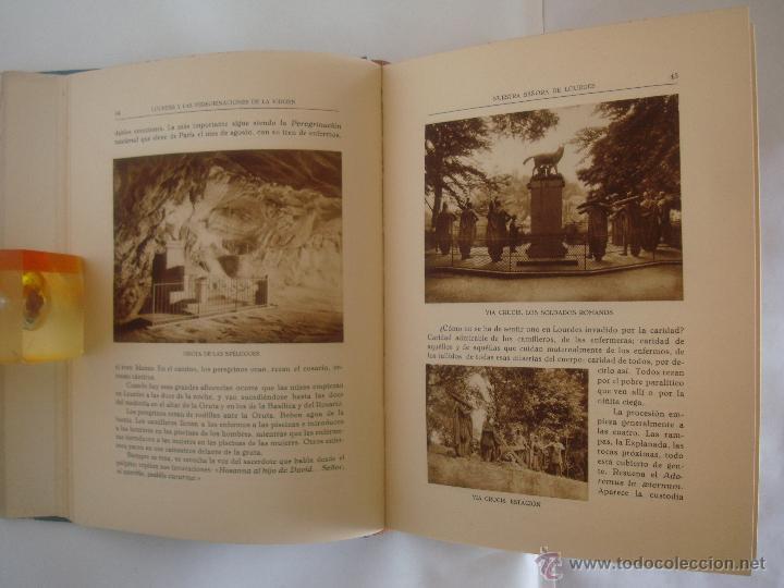 Libros antiguos: BAUSSAN. LOURDES Y LAS PEREGRINACIONES DE LA VIRGEN. 1927. OBRA MUY ILUSTRADA - Foto 4 - 50482173