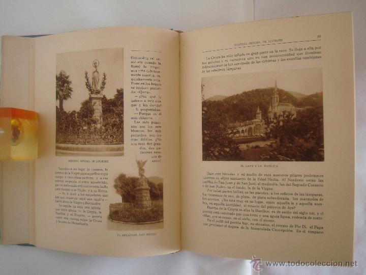 Libros antiguos: BAUSSAN. LOURDES Y LAS PEREGRINACIONES DE LA VIRGEN. 1927. OBRA MUY ILUSTRADA - Foto 6 - 50482173