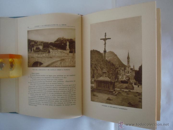 Libros antiguos: BAUSSAN. LOURDES Y LAS PEREGRINACIONES DE LA VIRGEN. 1927. OBRA MUY ILUSTRADA - Foto 7 - 50482173