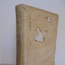 Libros antiguos: BREVIS EXPOSITIO AD QUATUOR PETRI LOMBARDI.ANTONII CASTEL. TOMUS QUINTUS. JOSEPHO DE ORGA M.DCC.LVI.. Lote 50529550