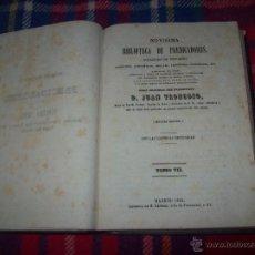 Libros antiguos: NOVÍSIMA BIBLIOTECA DE PREDICADORES.MISTERIOS Y FESTIVIDADES DEL SEÑOR Y DE LA SANTÍSIMA VIRGEN.1862. Lote 50550932