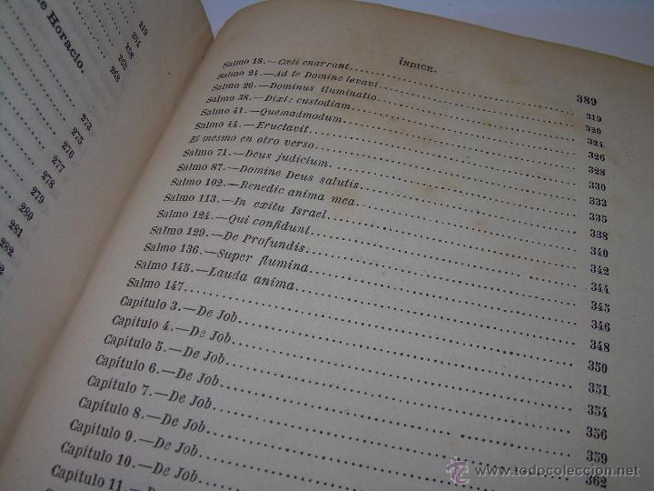 Libros antiguos: LIBRO TAPAS DE PIEL...OBRAS SELECTAS DE ...FRAY LUIS DE LEON......AÑO..1.868 - Foto 10 - 50622905