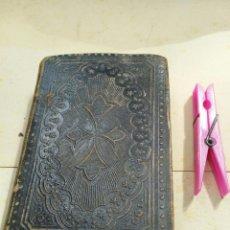 Libros antiguos: DEVOCIONARIO: MANUAL DE EJERCICIOS ESPIRITUALES. BARCELONA-1874. PAGS. 542. Lote 50787371