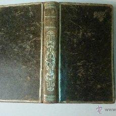 Libros antiguos: MANRÈSE OU LES EXERCICES SPIRITUELS DE SAINT IGNACE. LYON 1846. J.B. PÉLAGAUD. Lote 50975005